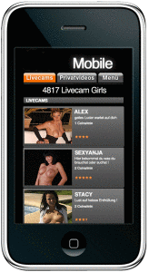 smartphone sexcam chat